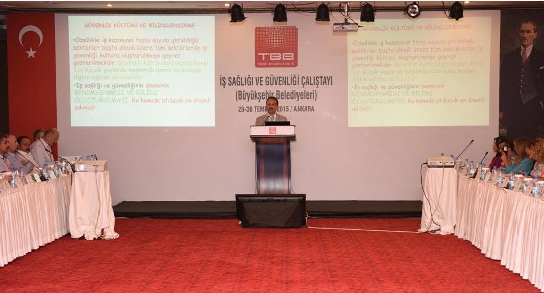 Iş Sağlığı Ve Güvenliği çalıştayı Ankarada Yapıldı